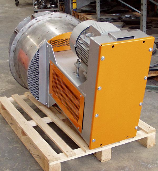 Ventilatori alte temperature fino a 100�C in acciaio refrattario e leghe