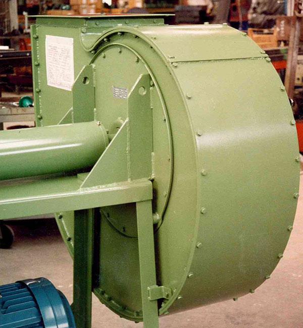 Ventilatore con carcassa corazzata (corazza rigenerabile)